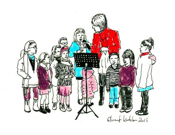 Chant au chapiteau