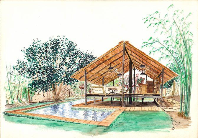 Kangaba piscine